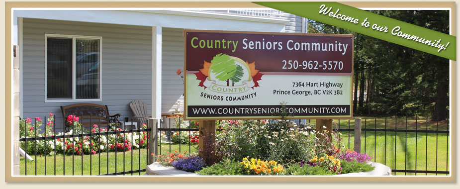 About Contry Seniors Community